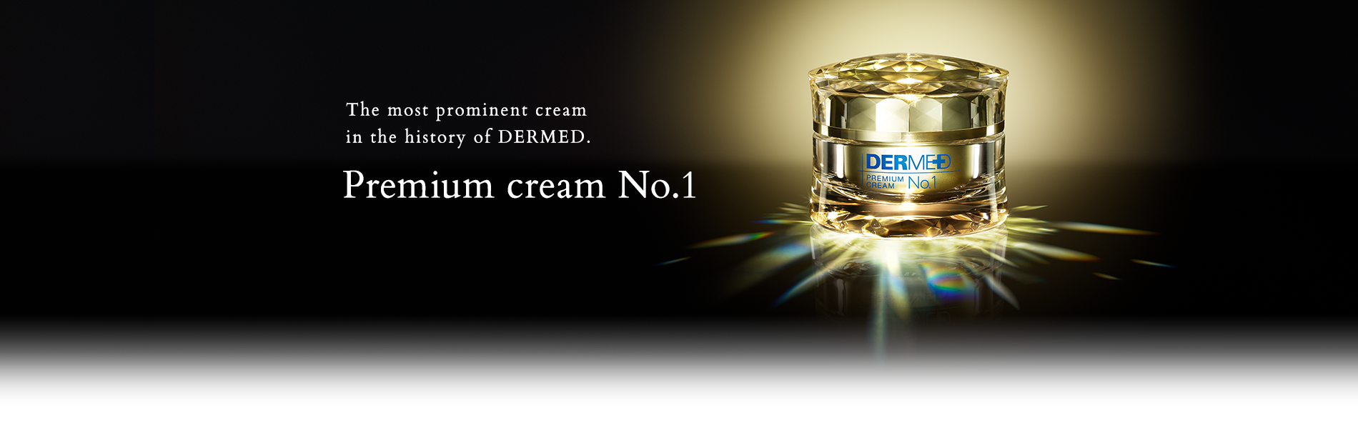 The most prominent cream in the history of DERMED. Premium cream No.1