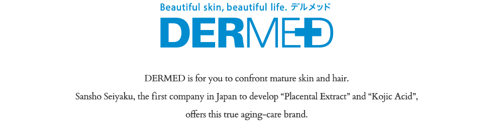 DERMED Better Ingredients, Better Cosmetics
