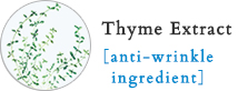 Thyme Extract [anti-wrinkle ingredient]